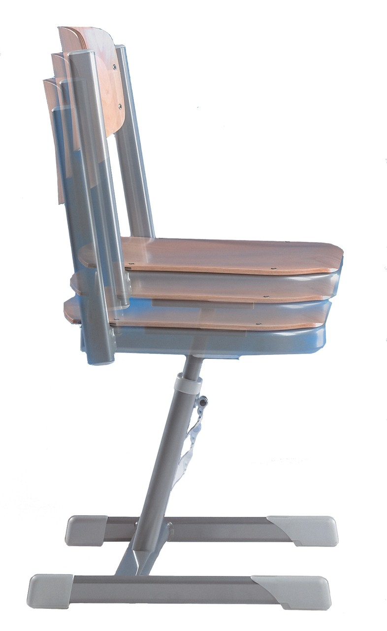 lordo stuhl aluflex versch gr en lehne melamin. Black Bedroom Furniture Sets. Home Design Ideas