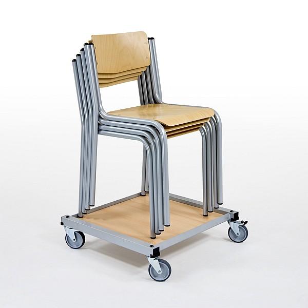stuhltransportwagen oscar. Black Bedroom Furniture Sets. Home Design Ideas