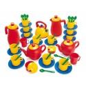 Puppen - Kaffee- und Teeservice für 12 Kinder, 45 tlg.