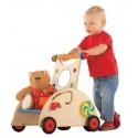 HABA Puppen - / Lauflernwagen, natur