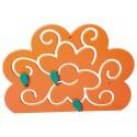 Wandlabyrinth Blume