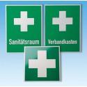 Set - Rettungszeichen nach DIN 4844