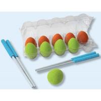Rechnen mit Stäbchen: 10 Eier in 2 Farben, 2 Paar Stäbchen