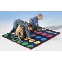 Schöner, bunter Spielteppich in Top-Qualität - fördert Beweglichkeit, Koordination und Balance