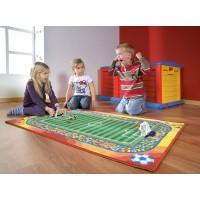 Schöner, bunter Spielteppich in Top-Qualität