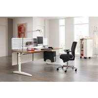 Schaffen Sie mit dem Schreibtischsystem Caldo C für jede Aufgabe die richtige Umgebung.