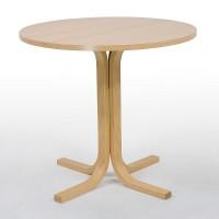 Gestell Holz, runde Tischplatte