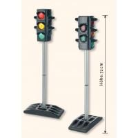 Verkehrsampel - die Ampelphasen wechseln entweder automatisch oder Sie schalten sie manuell um.