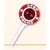 Polizeikelle mit Blinklicht