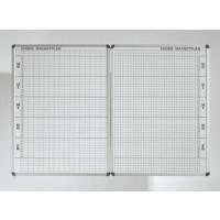 Bilder links Klassenplan (bitte extra bestellen) und rechts Personalplan mit Raster für 8 Stunden in weiß