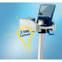 Lampe: 250 W/24 V, Lichtstärke: ca. 2.500 Lumen