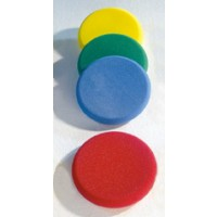 """Die Frisbeescheiben mit einer speziellen Beschichtung """"Elefantenhaut""""  abwaschbar und garantieren eine lange Haltbarkeit."""