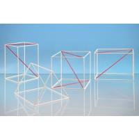 Geometrieset 1, Drahtmodelle mit diversen Diagonalen. Robust und leicht.