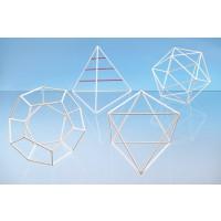 Drahtmodell Set 3 mit diversen Diagonalen