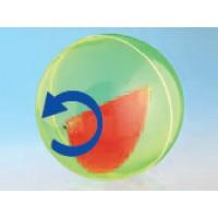 Modell J3003-1a14,  Geometrische Körper aus gefärbtem Acrylglas.