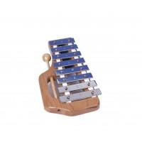 Glockenspiel (8 Töne, diatonisch, mit Schlägel)