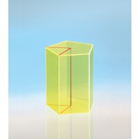Modell J3003-1a10, Geometrische Körper aus gefärbtem Acrylglas.