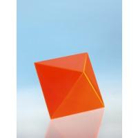 Modell J3003-1a16,  Geometrische Körper aus gefärbtem Acrylglas.