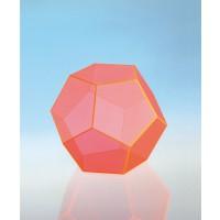 Modell J3003-1a17,  Geometrische Körper aus gefärbtem Acrylglas.