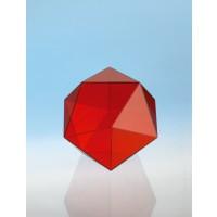 ModellJ3003-1a18,  Geometrische Körper aus gefärbtem Acrylglas.