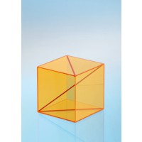 Modell J3003-1a20, Geometrischer Körper aus gefärbtem Acrylglas