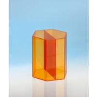 Modell J3003-1a22, Geometrische Körper aus gefärbtem Acrylglas.