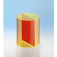 Modell J3003-1a23, Geometrische Körper aus gefärbtem Acrylglas.