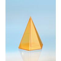 Modell J3003-1a6, Geometrische Körper aus gefärbtem Acrylglas.