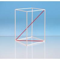 Drahtmodelle mit diversen Diagonalen. Robust und leicht.