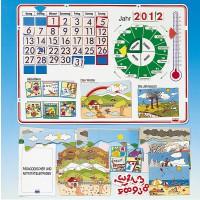 Dieser Kalender ist ein vielseitiges Arbeitsmittel für Kinder im Kindergartenalter.