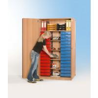 InBox Hochschrank mit 28 flachen Schüben
