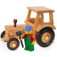 Traktor mit Dach