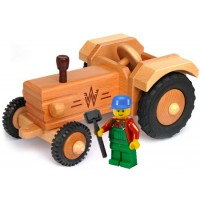 Traktor ohne Dach