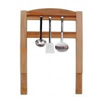 Anbau-Besteckhalter - aus Erlenholz geölt - zum anschrauben an alle Küchenmöbel