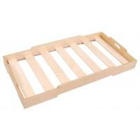 stapelbares Bett aus Multiplex