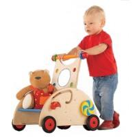Puppen- / Lauflernwagen Buche natur