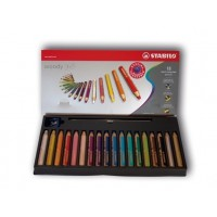 18 Stifte mit bruchsicherer Mine
