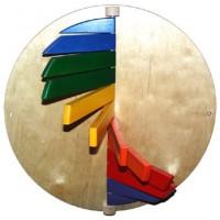 Wandklappspiel klein - Ø 24 cm