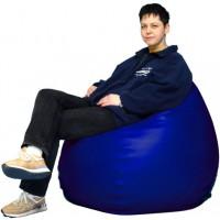 Sitzsack, blau