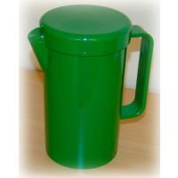 Große Kanne mit Deckel, grün