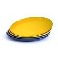 Essteller, Durchmesser 24 cm, gelb