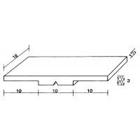 Für die Kopfzeile MS 18x30: 1 Kippmagnet, 18 x 30 mm, weiß, zur Kennzeichnung der Klasse