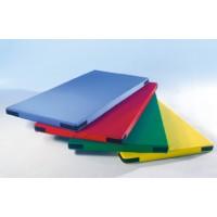 farbenfroher Planenstoff (blau, rot, grün, gelb)