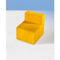 Sessel, Abbildung zeigt einen Sessel mit Bezugsstoff in UYY (gelb)