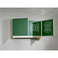 Wandklapptafel, Oberflächen grün