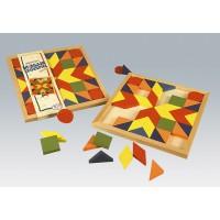 Mosaik-Legespiel, 44-teilig
