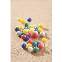 Steck- und Markierungsnadeln (Nadellänge: 11 mm) farbig sortiert