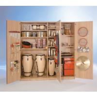 Alle Musikschränke werden ohne Instrumente geliefert.