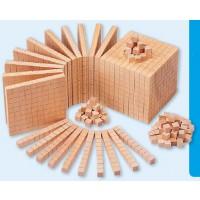 Zehnersystem aus Holz - nach Dienes