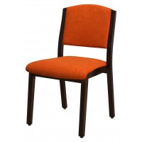 Stuhl Olpe, Sitz- und Rücken gepolstert